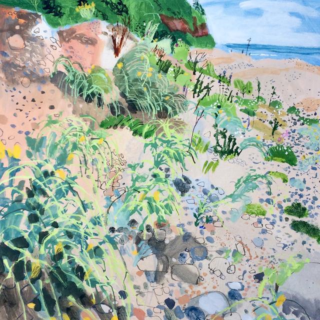 , 'Axmouth Beach,' 2018, Hybrid Gallery