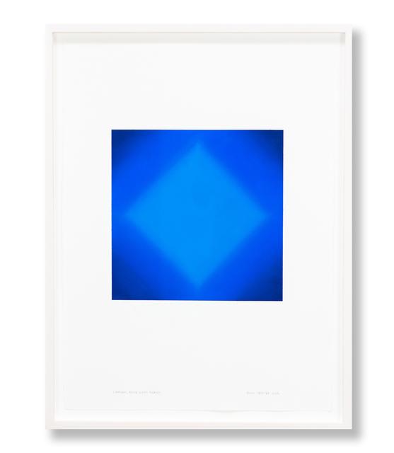 , 'Diamond, Blue Light Series,' 2018, Edward Cella Art and Architecture