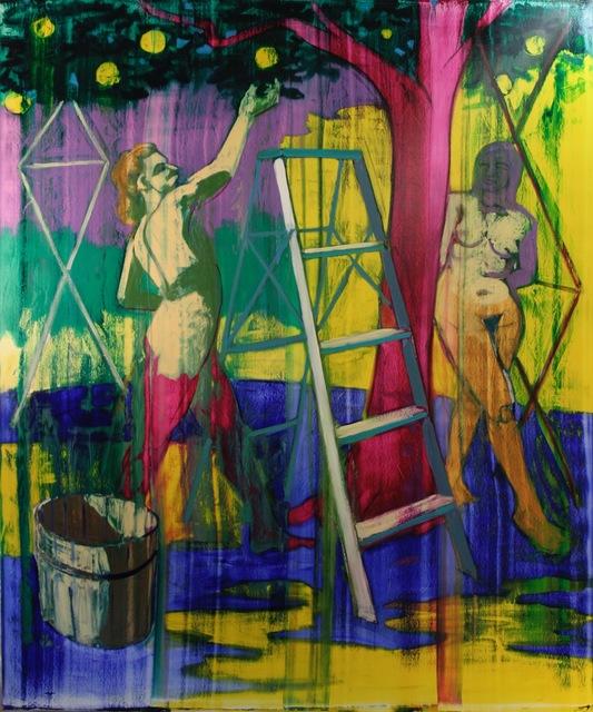 """, '""""Garden of Eden"""",' 2017, Adah Rose Gallery"""