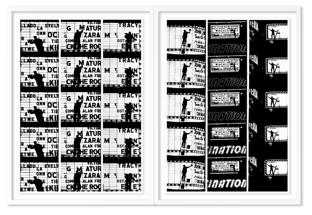 , 'Film Strips from Broadway by Light #1 & #2,' 1958, HackelBury Fine Art