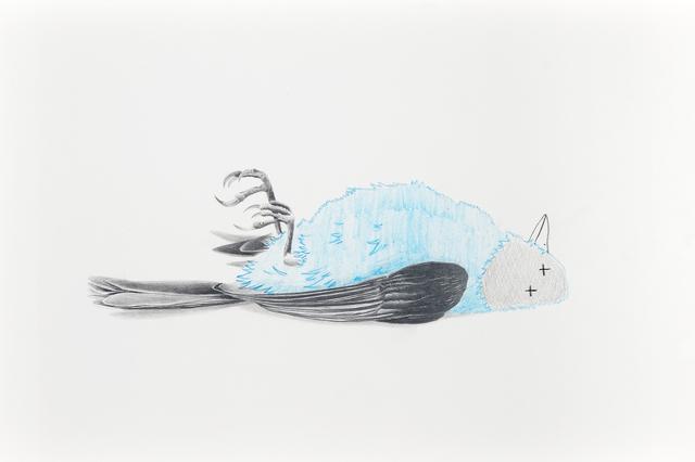 , 'Otro pajarito muerto que no se salvó,' 2018, Galerie C.O.A