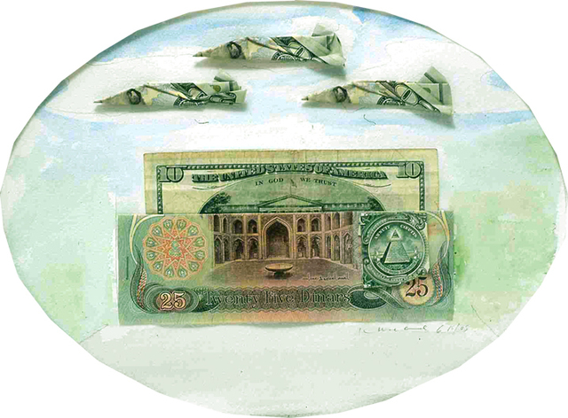 , 'United States of Iraq (25 Dinar),' 2005, Rosamund Felsen Gallery