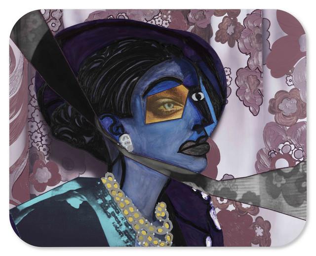 , 'Portrait of Aaliyah,' 2018, Galerie Nathalie Obadia