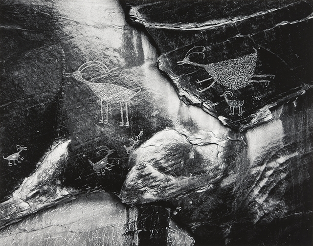 Ansel Adams, 'Petroglyphs, Monument Valley, Utah', 1958, Atlas Gallery