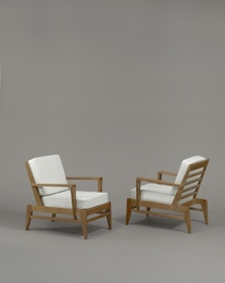 René Gabriel, 'Pair of armchairs', 1946, Galerie Pascal Cuisinier