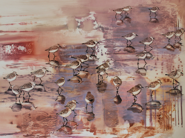 , 'Snowy Plovers,' 2016, Seager Gray Gallery