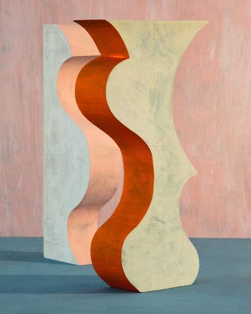 , 'Orange Pushy,' 2019, Denny Dimin Gallery