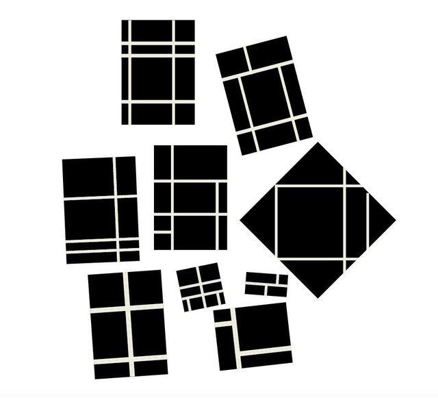 , 'Sub Mondrian,' 2018, Del Infinito