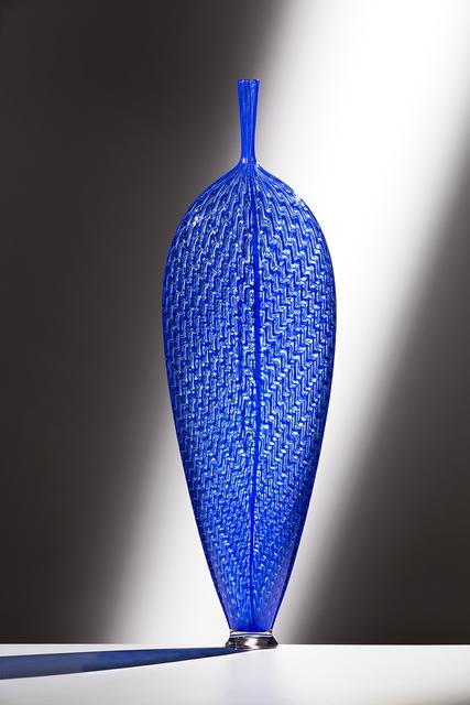 , 'Blue Wavy Leaf,' 2016, Ken Saunders Gallery