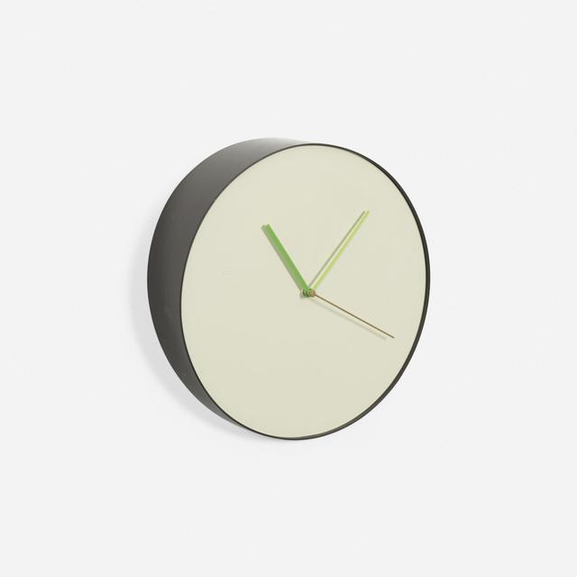 Rich Brilliant Willing, 'Bias wall clock', 2010, Design/Decorative Art, Plastic, enameled aluminum, Rago/Wright