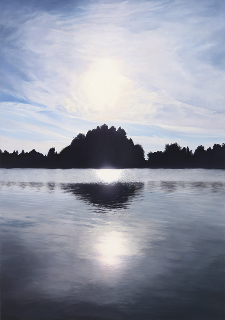, 'Equinox Blue,' 2014, Aki Gallery