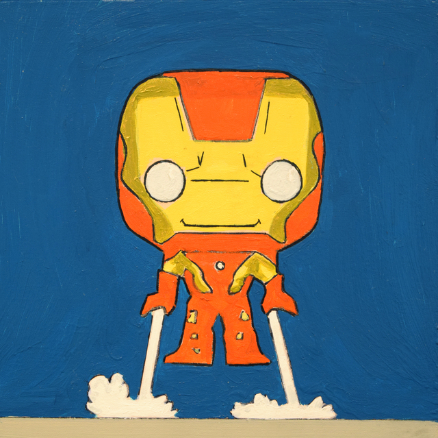 , 'Little Iron Man,' 2016, Fountain House Gallery