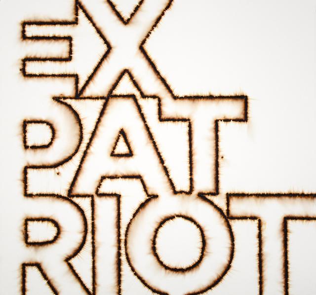 , 'Ex*Pat*Riot,' 2016, Maus Contemporary