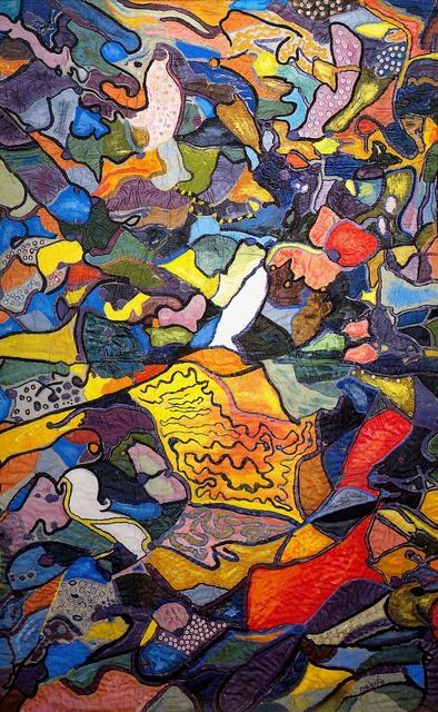, 'I have desires,' 1986, Pacita Abad Art Estate