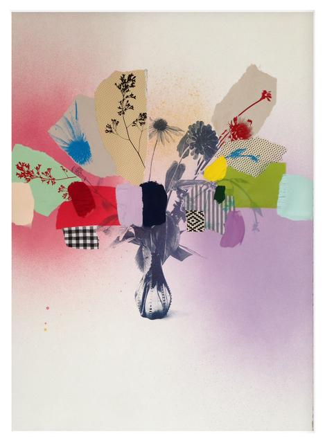 , 'Paper Bouquet (in rainbows) IV,' 2017, Newzones