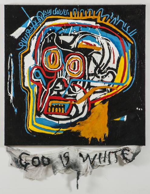 , 'Episteme Sabotage - God Is White,' 2014, PKM Gallery