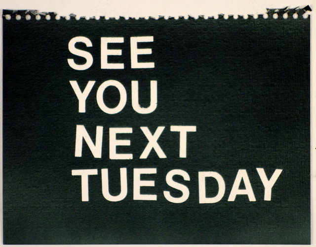 , 'See You Next Tuesday (black),' , Rodolphe Janssen