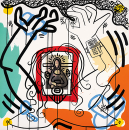 Keith Haring, 'Untitled 6, from Apocalypse,' 1988, Phillips: Evening and Day Editions