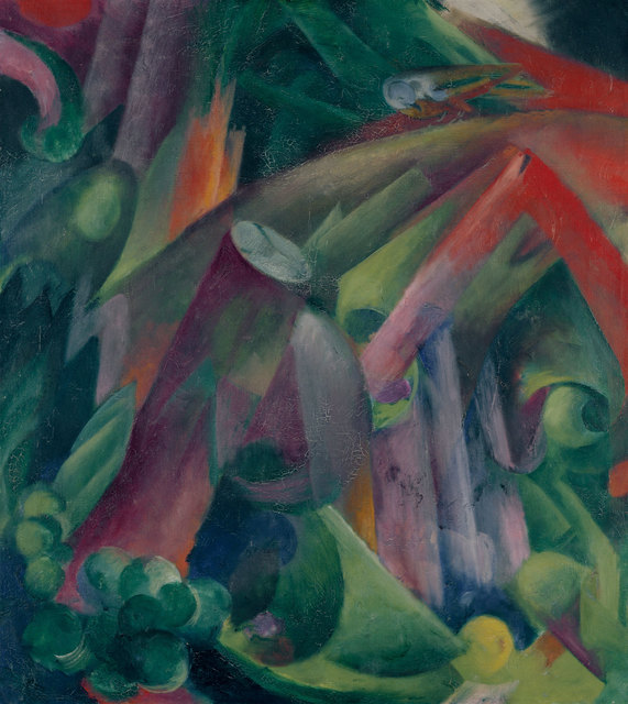 , 'Waldinneres mit Vogel (Inside a Forest with a Bird),' 1912, Kunstmuseum Bern