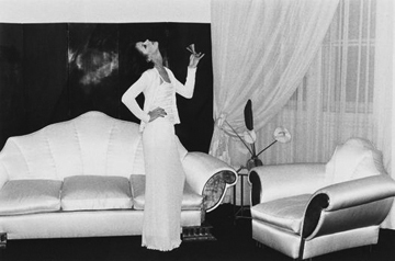 Helmut Newton, 'At Karl Lagerfeld's, Paris', 1974, Staley-Wise Gallery