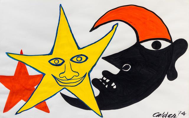 Alexander Calder, 'Mirobolant', 1974, Opera Gallery