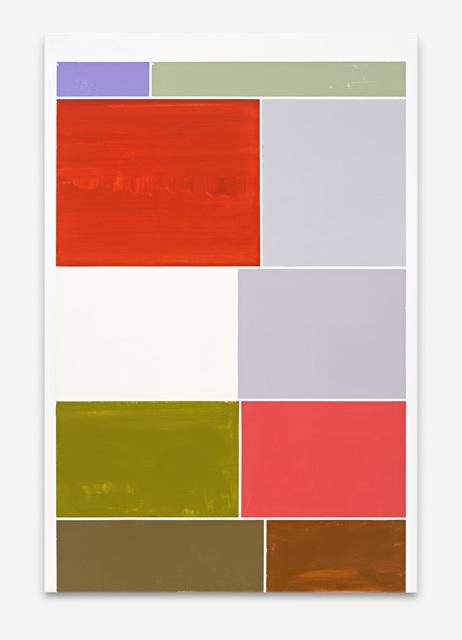 Ronald de Bloeme, 'Kaiserleuchte I (Google)', 2019, Painting, Matte and high-gloss lacquer on canvas, BorzoGallery