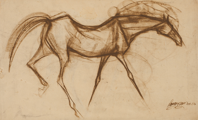 , 'Horse,' 1960, Dag Modern