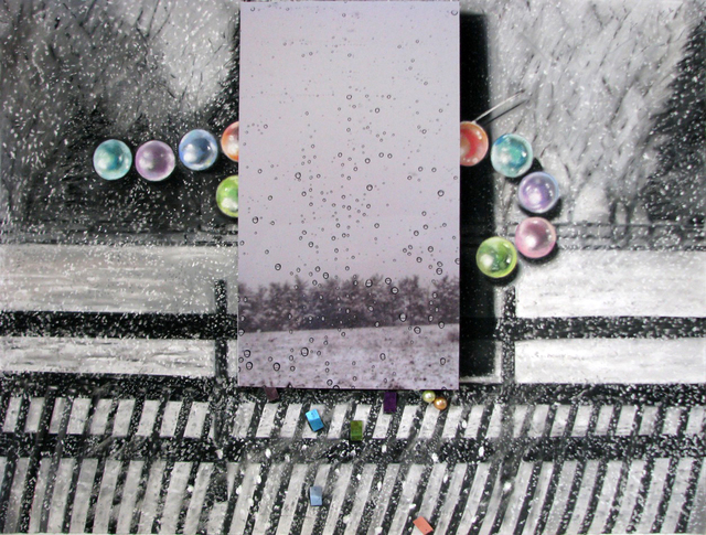 , 'Drops, Flurries, Paillettes ,' 2013, Carter Burden Gallery