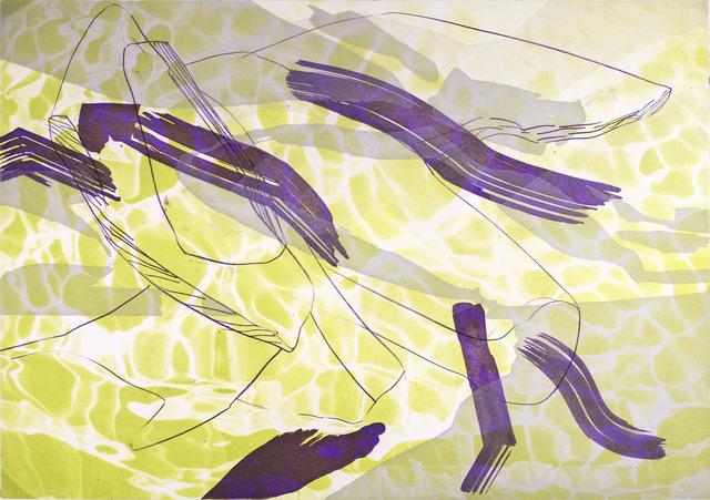 , 'Many happy returns III,' 2017, Himmelblau Printmaking Finland