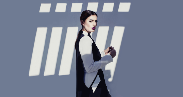 , 'Geometric Abaya Dress,' 2014, de Young Museum