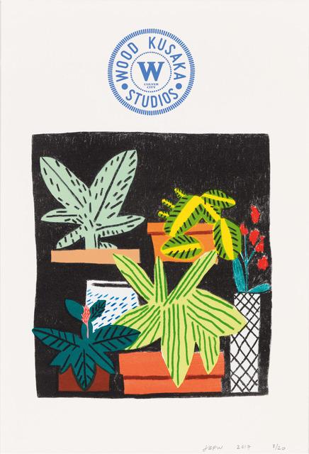 , 'Notepad Doodle (State I),' 2017, Gagosian