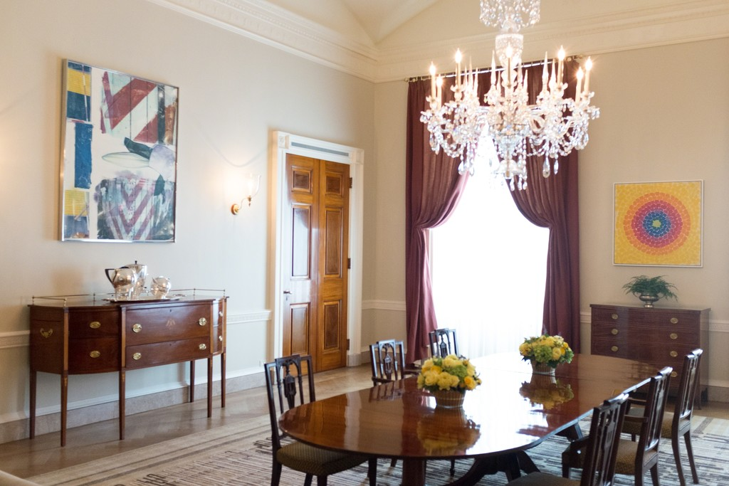 Dining Room, The White House