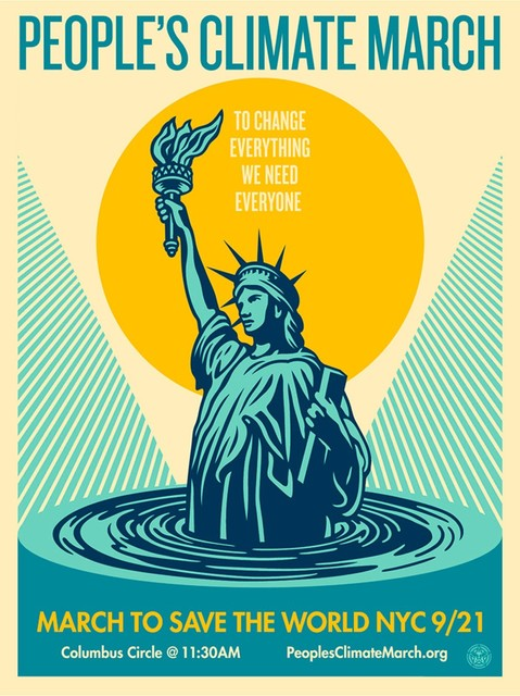 Shepard Fairey, 'People's Climate March', ca. 2018, AYNAC Gallery
