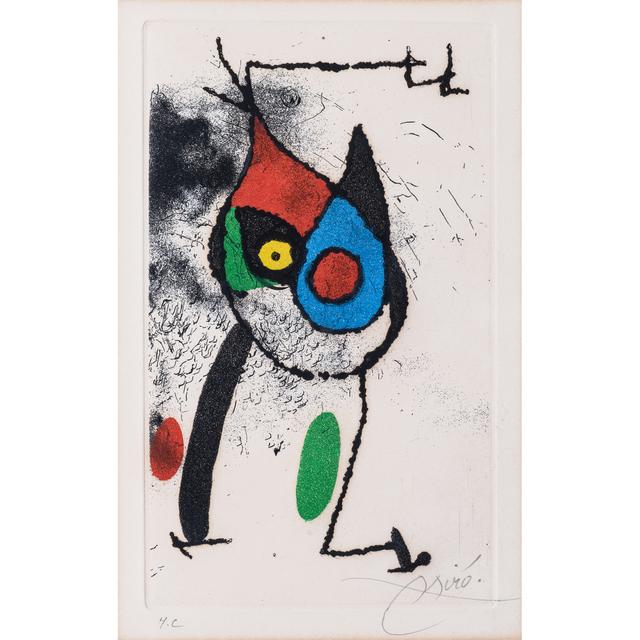 Joan Miró, 'Les magies', 1972, PIASA