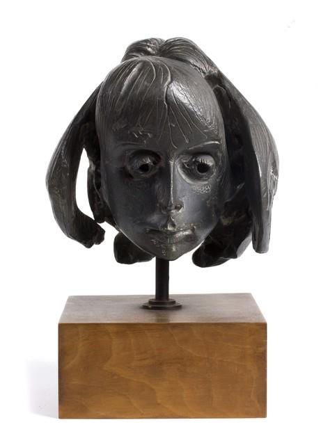 Floriano Bodini, 'Head of a young girl', Sculpture, Bronze sculpture, Bertolami Fine Arts