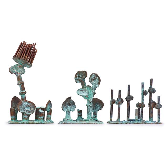 Klaus Ihlenfeld, 'Three Tropical Plants Sculptures, Berks County, PA', 2000s, Rago/Wright