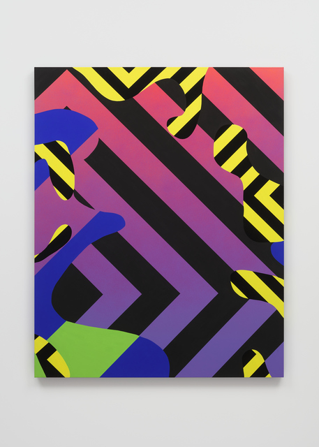 Reko Rennie, 'Camofleur 6', 2019, Painting, Acrylic, flashe and pigment on linen, Over the Influence