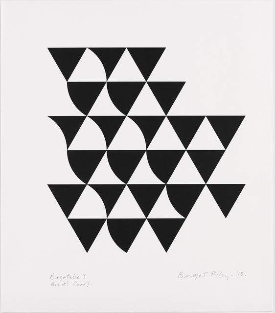 , 'Bagatelle 3,' 2015, Karsten Schubert