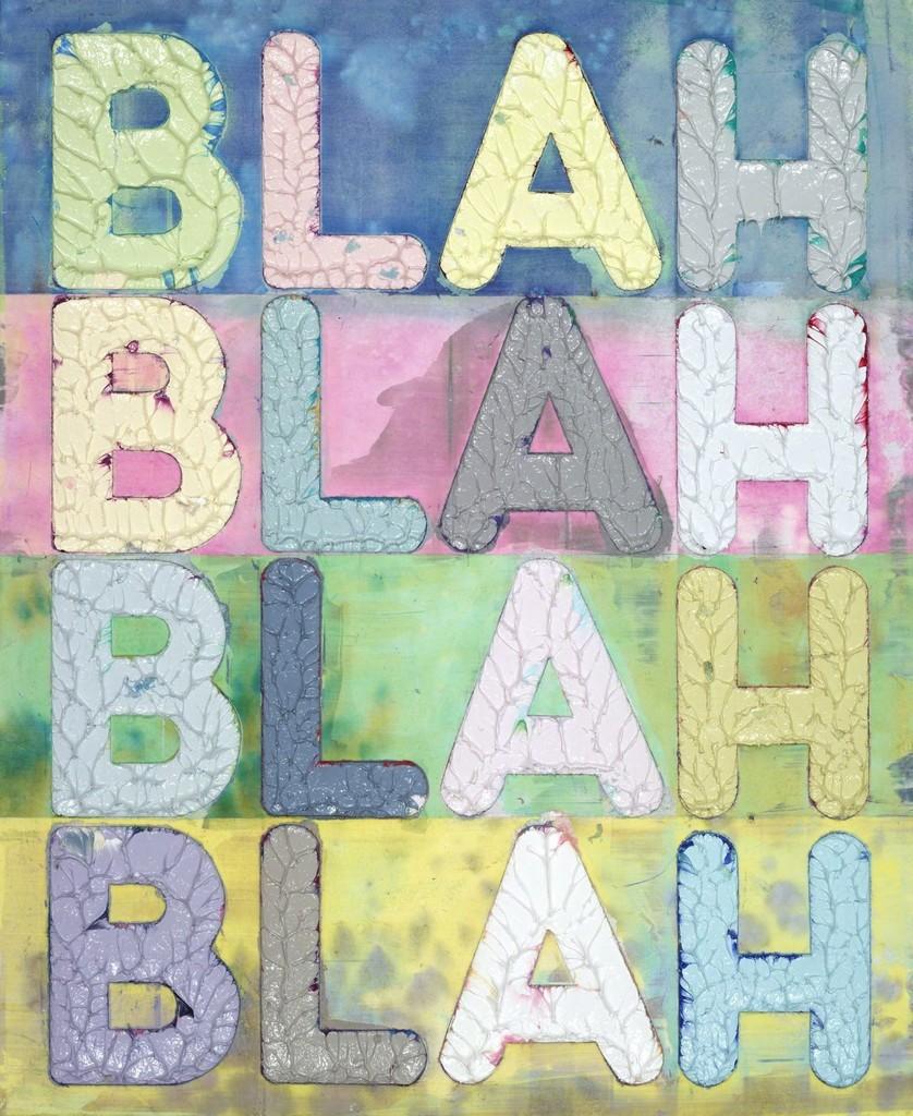 Blah Blah Blah (MB5298)