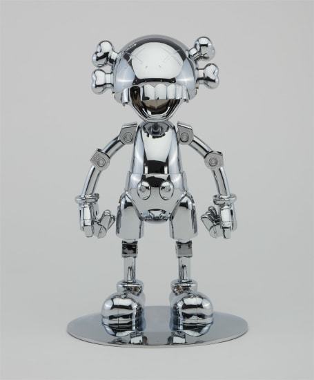KAWS, 'KAWS X HAJIME SORAYAMA No Future Companion (Silver Chrome) ', 2008, Lougher Contemporary