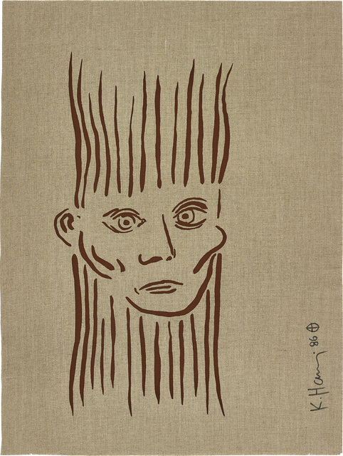 Keith Haring, 'Portrait of Joseph Beuys, from For Joseph Beuys', 1986-87, Phillips