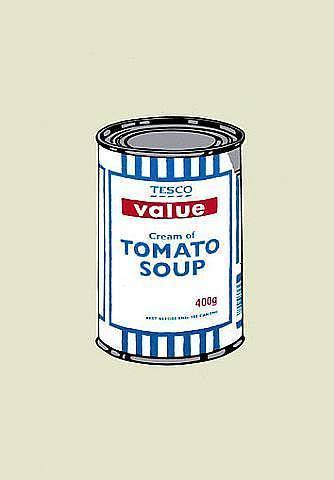 Banksy, 'Soup Can (Unsigned)', 2004, Prescription Art