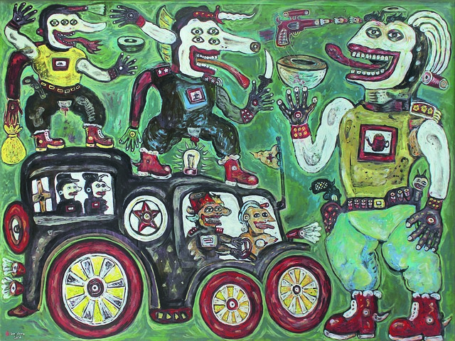, 'California Mafia,' 2016, Mizuma Art Gallery