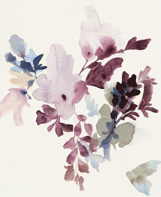 , 'Wildflowers Lilac and Smoke 4,' 2018, Wally Workman Gallery