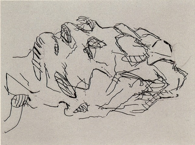 , 'Sleep,' 2001, Castlegate House Gallery