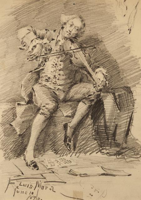 , 'Untitled (Violinist),' 1874-1940, ACA Galleries
