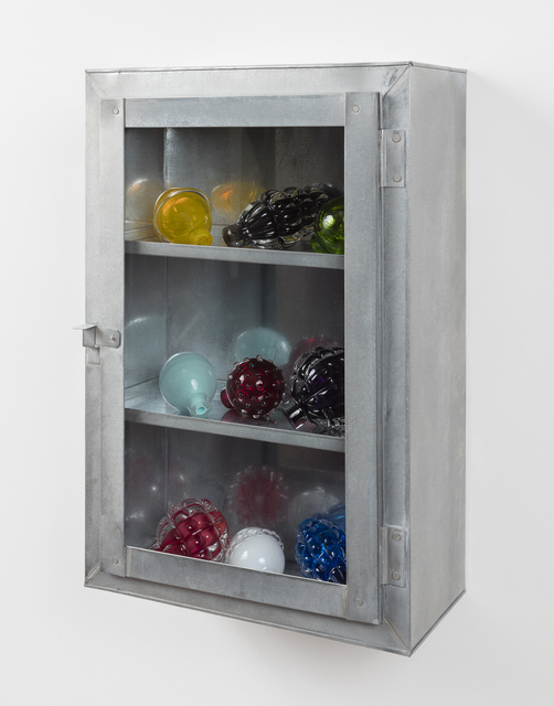 , 'Still Life (metal cabinet),' 2015, Alexander and Bonin
