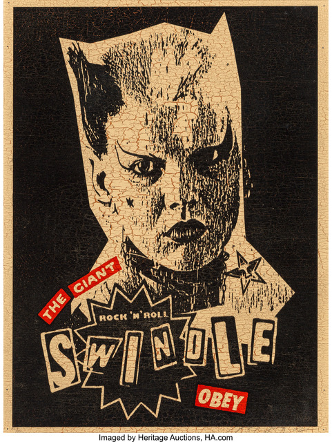 Shepard Fairey (OBEY), 'Rock and Roll Swindle', 2002, Heritage Auctions