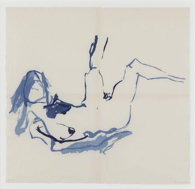 , 'Soft Blue,' 2012, White Cube