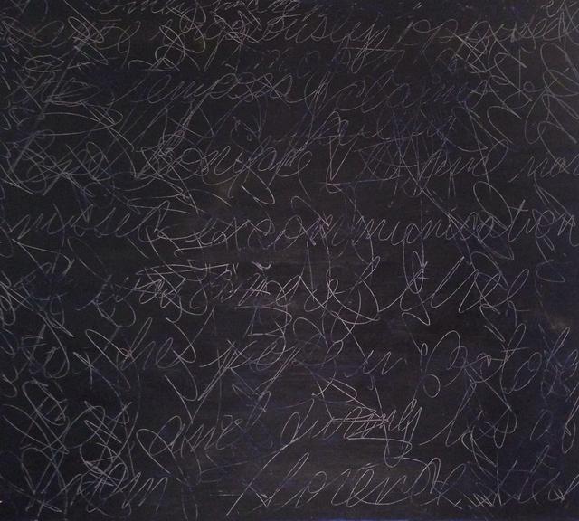 , 'Scribble Scrabble,' 1991, Massey Klein Gallery